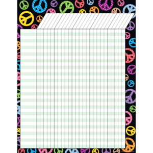 TCR7726 Peace Signs Incentive Chart Image