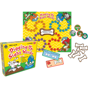 TCR7812 Digging Up Sight Words Game Image