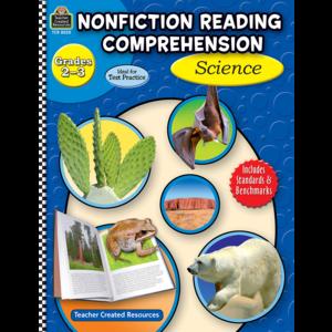 TCR8020 Nonfiction Reading Comprehension: Science, Grades 2-3 Image