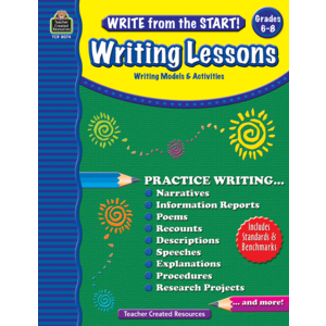 TCR8074 Write from the Start! Writing Lessons Grade 6-8 Image