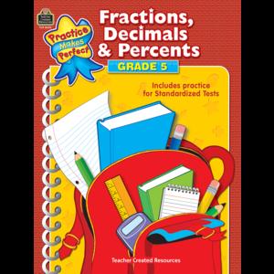 TCR8630 Fractions, Decimals & Percents Grade 5 Image