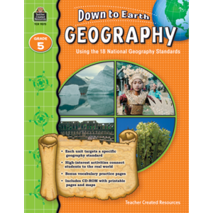 TCR9275 Down to Earth Geography, Grade 5 Image