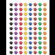 Colorful Paw Prints Mini Stickers Alternate Image A'}