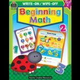 Beginning Math Write-On Wipe-Off Book