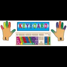 Keyboards Bulletin Board Display Set
