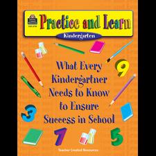 Practice and Learn: Kindergarten