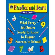 Practice and Learn: 1st Grade