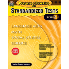 Prepare & Practice for Standardized Tests Grade 3