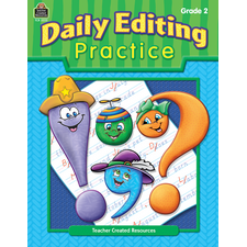 Daily Editing Practice, Grade 2
