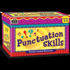 Punctuation Skills Cards