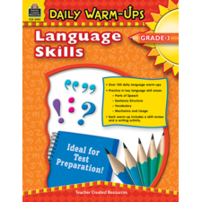Daily Warm-Ups: Language Skills Grade 3