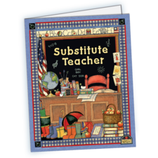 Substitute Teacher Pocket Folder from Susan Winget