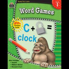 Ready-Set-Learn: Word Games Grade 1