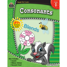 Ready-Set-Learn: Consonants Grade 1