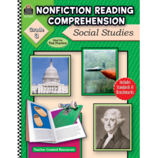 Nonfiction Reading Comprehension: Social Studies, Grade 3