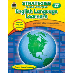 TCR2558 Strategies to use with your English Language Learners Gr 4-6 Image