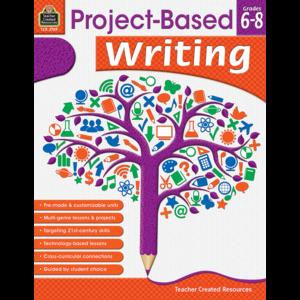 TCR2789 Project Based Writing Grade 6-8 Image
