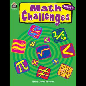 TCR2965 Math Challenges, Grades 5-8 Image