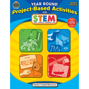 TCR3024 Year Round Project-Based Activities for STEM PreK-K Image