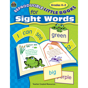 TCR3225 Reproducible Little Books for Sight Words Image