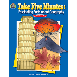 TCR3290 Take Five Minutes: Fascinating Facts about Geography Image