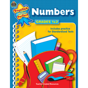 TCR3309 Numbers Grades 1-2 Image