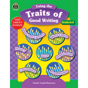 TCR3359 Using the Traits of Good Writing, Grades 6-8 Image