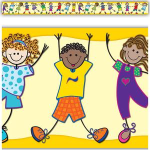 TCR5245 Fantastic Kids Straight Border Trim Image