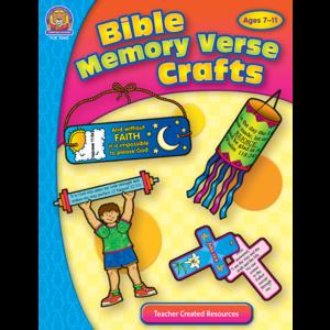 TCR7062 Bible Memory Verse Crafts Image