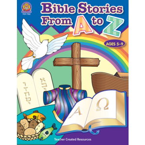 TCR7102 Bible Stories from A-Z Image