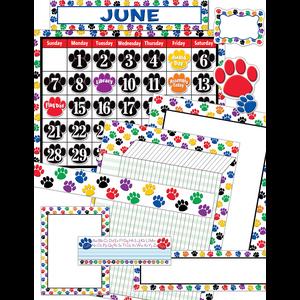 TCR9901 Colorful Paw Prints Set Image