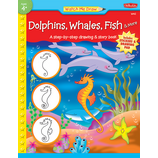 Watch Me Draw: Dolphins, Whales, Fish & More
