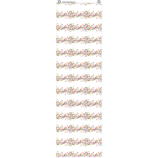 Confetti 10 Pocket File Storage Pocket Chart