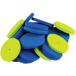 STEM Basics: Foam Wheels - 40 Count