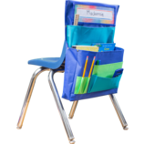 Blue, Teal & Lime Chair Pocket