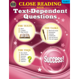 Close Reading Using Text-Dependent Questions Grade 5