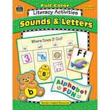 Full-Color Literacy Activities: Sounds & Letters