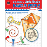 U.S. History Little Books: Famous People