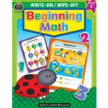 Beginning Math Write-On Wipe-Off Book