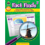 21st Century Fact Finds: Using Online Research Tools to Reinforce Common Core Skills- Grade 5