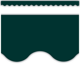 Hunter Green Scalloped Border Trim