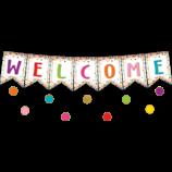 Confetti Pennants Welcome Bulletin Board Display
