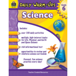 Daily Warm-Ups: Science Grade 6