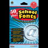 50 Plus School Fonts