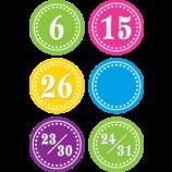 Bright Circles Calendar Days