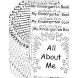 My Own All About Me Book: Kindergarten 25-Pack