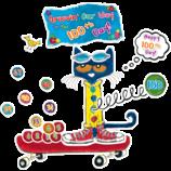 Pete the Cat 100 Groovy Days of School Bulletin Board