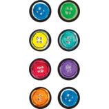 Pete the Cat Groovy Buttons Mini Stickers