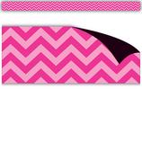 Hot Pink Chevron Magnetic Border