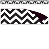 Black & White Chevron Magnetic Strips
